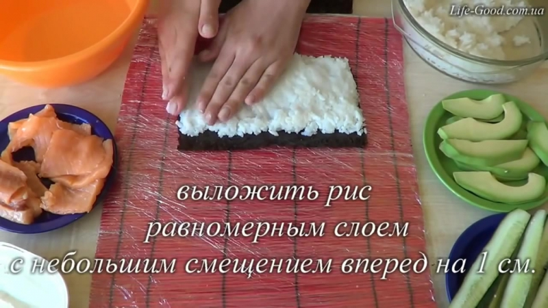 Ролл Филадельфия . Простой рецепт суши в домашних условиях