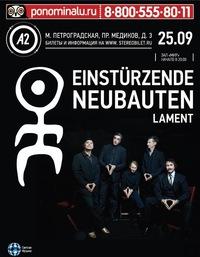 EINSTÜRZENDE NEUBAUTEN*Lament - 25/09, A2