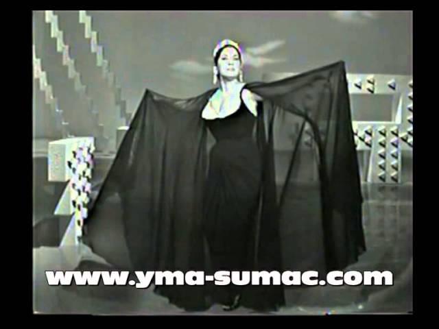 YMA SUMAC in Hollywood, 1964 Inca Love Song Earthquake (Tumpa) complete