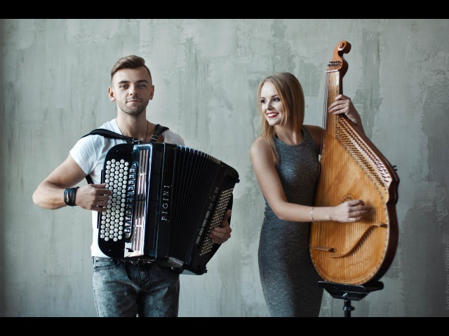 Adele - Rolling in the deep Cover version (bandura and accordion cover) BB Project. Ukrainian music