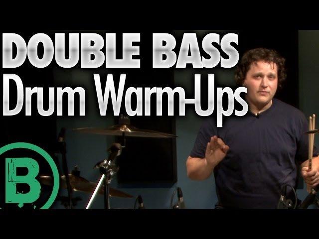 Double Bass Drum Warmups