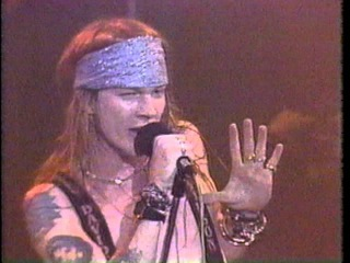 Guns N' Roses - Welcome To The Jungle - Live @ The Ritz 1988