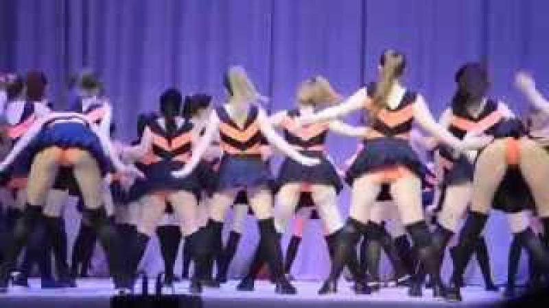 Скандальный танец пчелок! Школьный детский театр, Оренбург. Танец пчелок, тверки...
