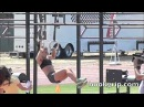 Camille Leblanc-Bazinet Slow Motion Muscle Ups: Extended
