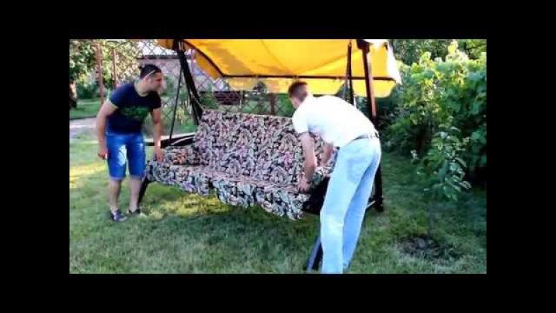 Садовые качели Texas инструкция по сборке.