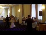 Первый танец молодых. Свадьба в стиле