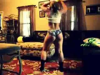 Phat ass white Girl Twerking