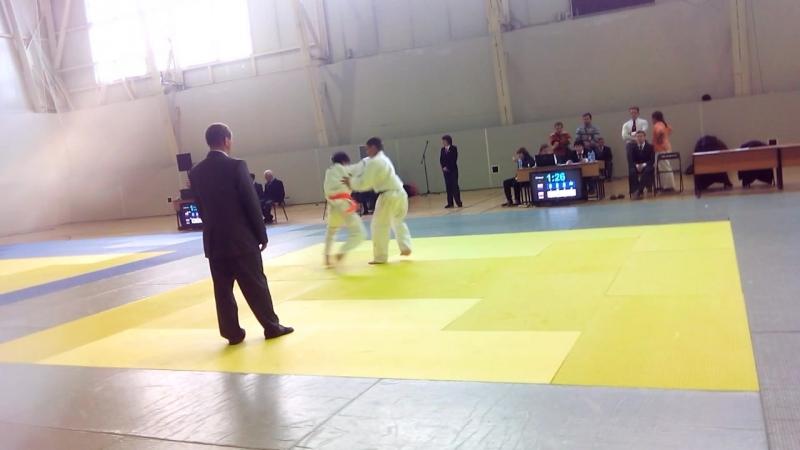 Полуфинал 50 кг Зинатуллин Тимур-Арсланов Давронбек г.Уфа 05.10.2014