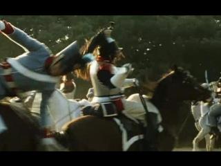 Схватка британского и французского кавалерийских разъездов (Приключения королевского стрелка Шарпа. Ватерлоо Шарпа)