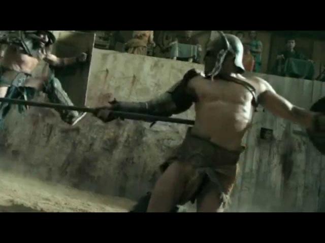 Гладиатор Крикс против Афкта | The first battle in the arena gladiator Crixus vs Afect