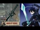Kirito's Elucidator Sword Art Online MAN AT ARMS
