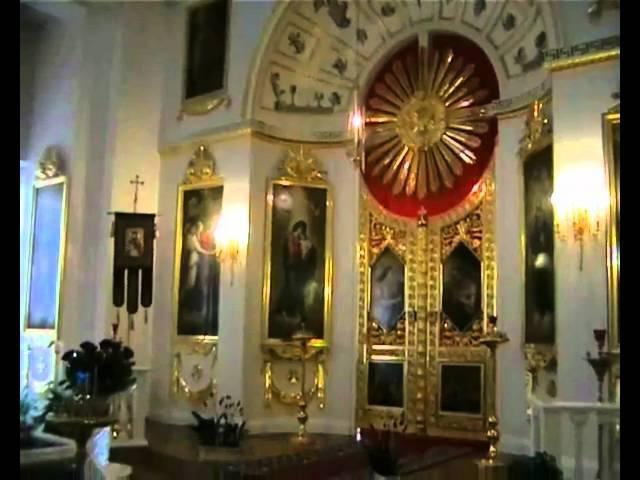 ПОКАЯНИЕ Иеромонах РОМАН Съемка в Домовой церкви Сената Российской Империи