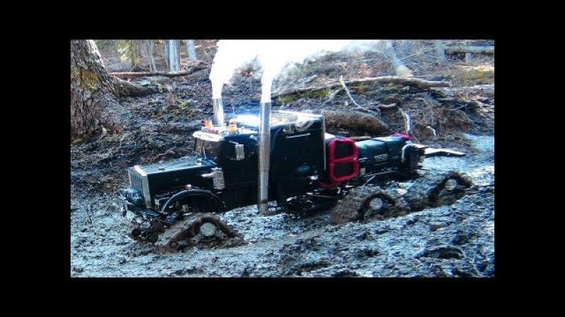 RC ADVENTURES - Muddy Tracked Semi-Truck 6X6X6 HD OVERKiLL 4X4