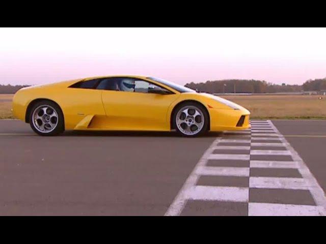 Stig drives Lamborghini Murcielago - The Stig - BBC