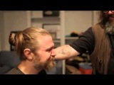 Sons of Anarchy Ryan Hurst shaves his beard Charlie Hunnam Mark Boone Junior cry with ryan YouTube