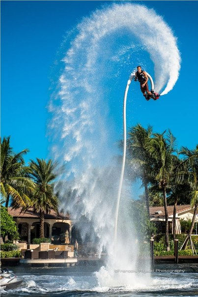 Flyboard World Champion Gemma Weston.