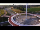 Bird's-eye view Hovenring Eindhoven (the Netherlands) designed by ipv Delft