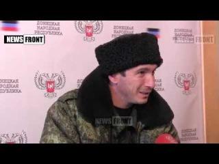 Атаман союза казаков Абхазии привез в Донецк гуманитарный и мандариновый груз.