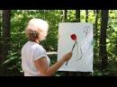 ВИДЕО урок по живописи для начинающих с Натали Котовой ТЮЛЬПАНЫ.