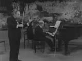 Шуберт - Сонатина для скрипки и фортепиано соль минор, D 408 III. Menuetto