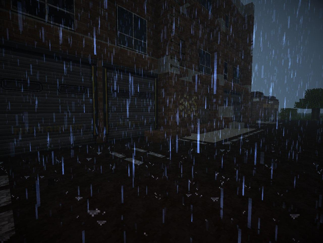 [Map][1.7.2+] Blacksville - постапокалиптический город