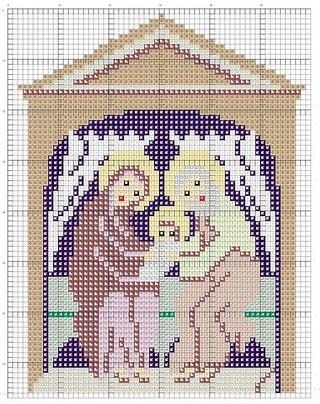 "Схема вышивки крестом ""Чудо"