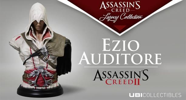 Ubicollectibles nos presenta el busto de Ezio Auditore