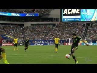 México 3-1 Jamaica- El Tri se baña en Oro pese a polémicas