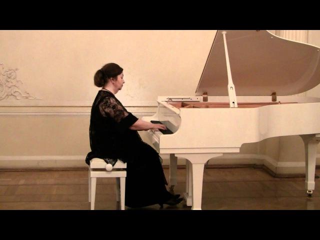 Татьяна Лупикина. Моцарт. Соната №5, G-dur, К 283.