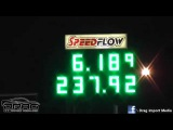 ROD HARVEY 6.18 @ 237 MPH - 2JZ CELICA - 19/12/2014 TEST DAY