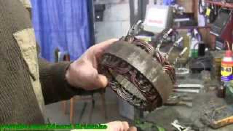 Как вытащить медь из обмотки, не имея ни каких инструментов