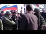 Крым захват в/ч в Перевальном