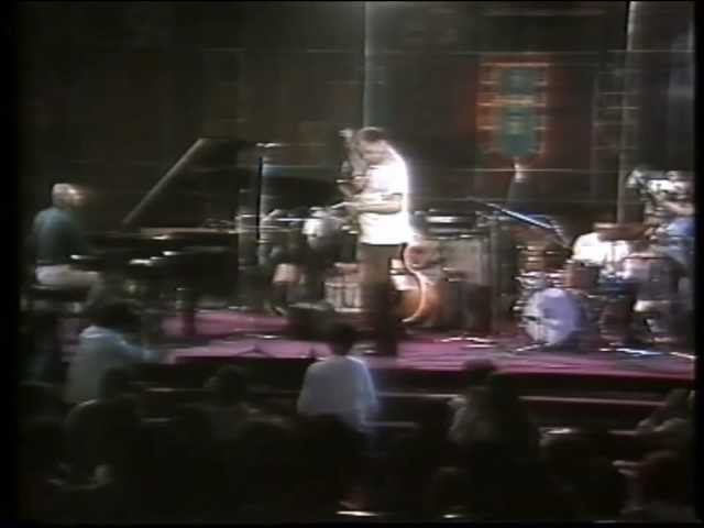 Dexter Gordon Quartet, Aula Magna, Lisboa, 1982