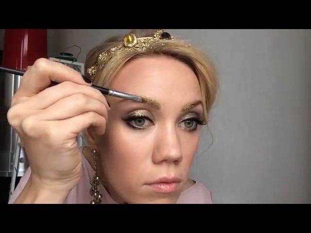 Вечерний макияж для женщин старше 45 лет