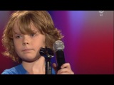 Carl - Hollywood Hills - The Voice Kids Germany (Blind Auditions 1) 21.3.2014 HD