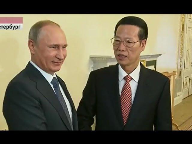 Китаец обалдел от подарка Путина