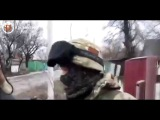 Углегорск. Как русские не стреляют по жилых домах.