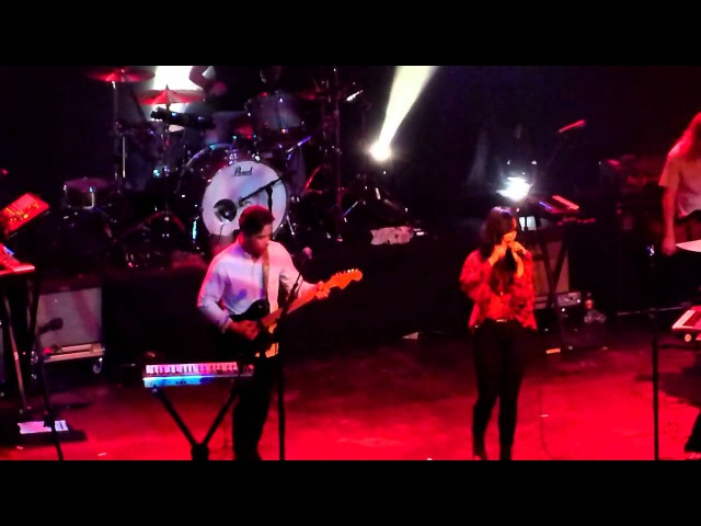 The Naked And Famous - Serenade (Fonda Theatre, Los Angeles CA 10/17/11)
