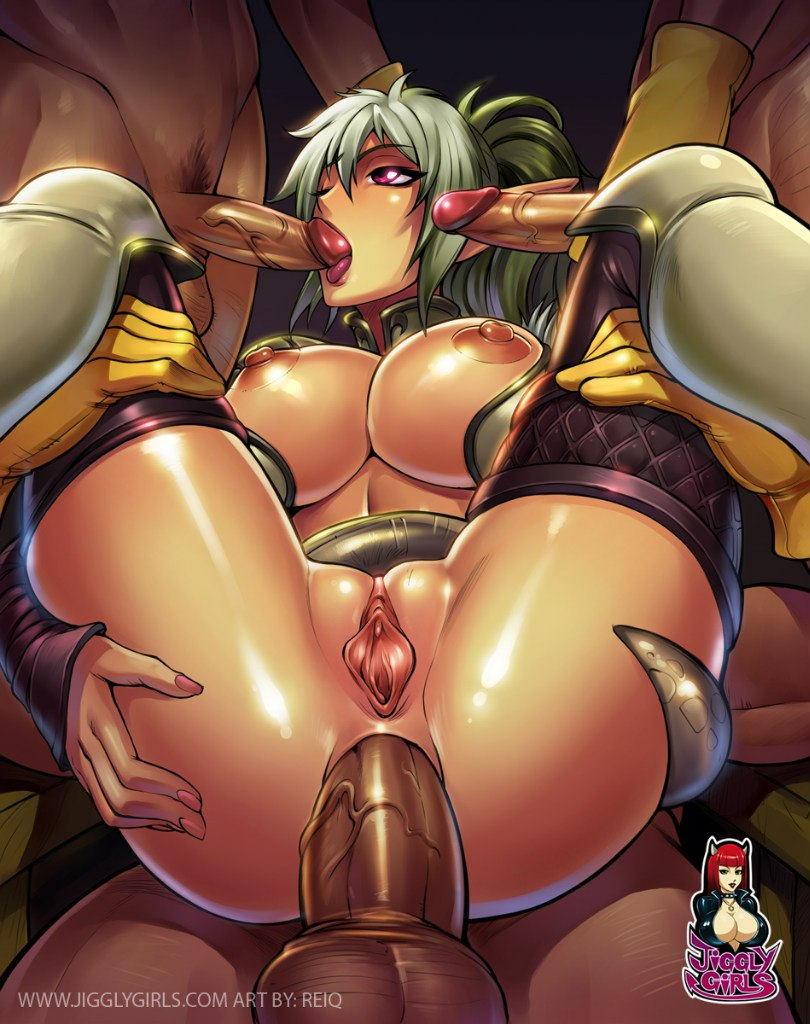 Queen's blade dwarf girl nude sexual sexe butt