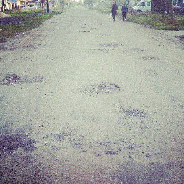 Дорога в Досчатом
