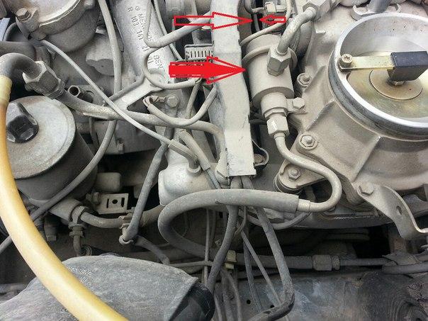 w124 Е 230 102 Мотор Не