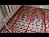 Как сделать водяной теплый пол — видео в трёх частях  1. Черновой пол из керамзита 2. Монтаж труб 3. Как сделать стяжку