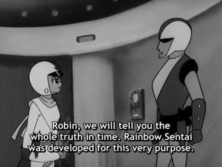 Rainbow Sentai Robin - 1 серия (ENG SUB) (1966)