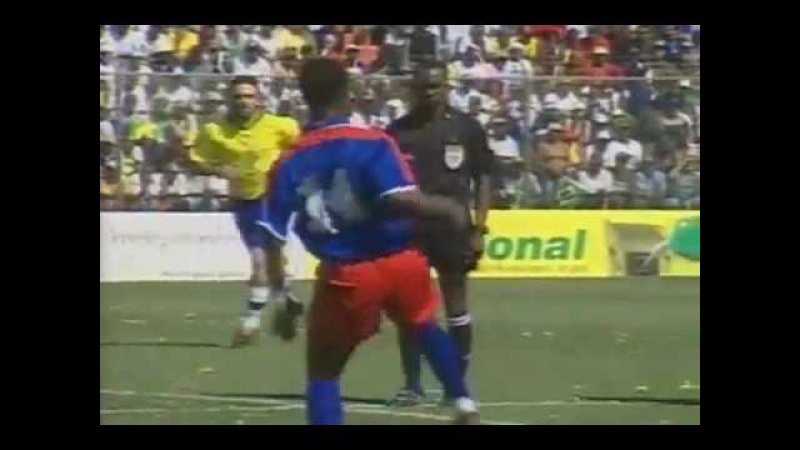 Amistoso 2004: Brasil 6x0 Haiti