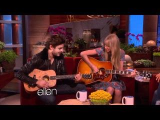 Taylor Swift and Zac Efron Sing a Duet! - The Ellen DeGeneres Show.flv