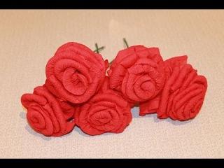 Как из салфетки сделать розу