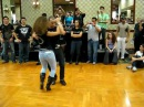 Ataca y La Alemana baile Bachata en salon I