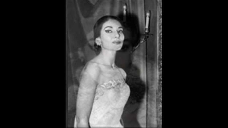 Maria Callas, O rendetemi la speme Qui la voce sua soave mi chiamava