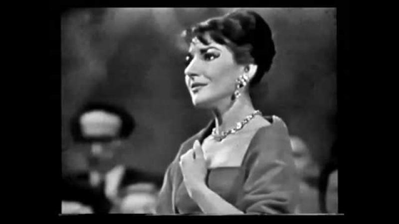 MARIA CALLAS La Traviata, Addio del passato 1953 (audio) e 1958 (foto)