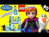 LEGO Frozen Elsas Sparkling Ice Castle 41062 Disney Princess Review